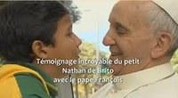 Le Pape François et Nathan