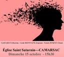 Concert Opéra Opérette du 15 octobre 2017 à Camarsac