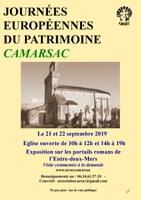 Journée du Patrimoine 2019 à Camarsac
