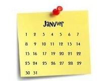 Calendrier Messes Secteur TFA Janvier 2020