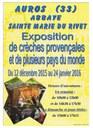 Crèches Provençales au Rivet 2015-2016