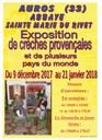 Exposition Crèches au Rivet 2018