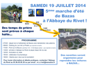 Marche Bazas - Le Rivet