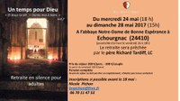 Retraite à l'abbaye d'Echourgnac2017-05-24