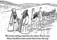 40 ans dans le désert