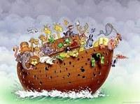 Dans l'arche de Noé.