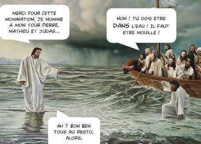 A113- Jésus marche eaux