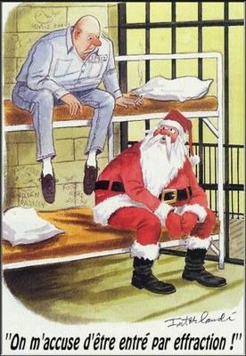 Père Noël prison