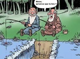 Moise a la peche