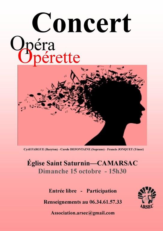 Concert Camarsac Opéra Opérette Arsec 2017-10-15