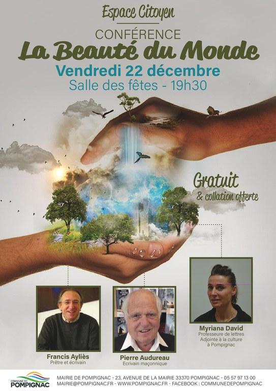 Conférence Beauté du Monde