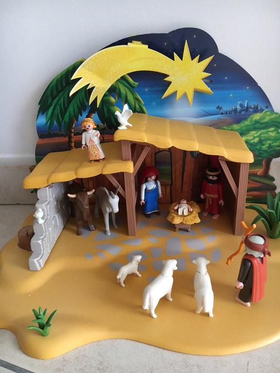 Eveil à la foi 2017-12-10 Crèche Noël