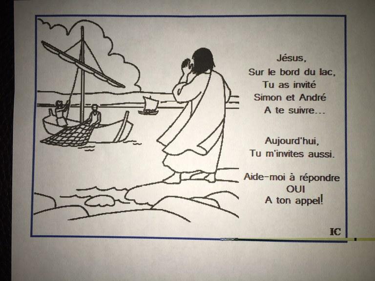 Eveil à la foi 2018-02-03 Thème