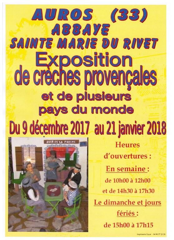 Exposition de Crèches au Rivet 2018-01-21