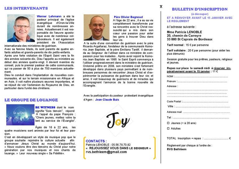 Flyer Lenoble JOY Bethléem 2017-01-27 B