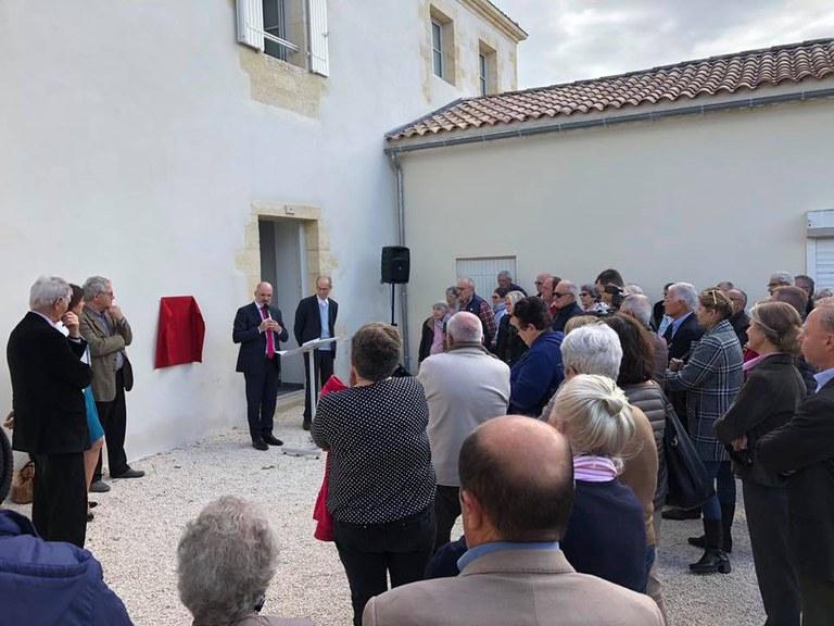 Inauguration Prebysbytère 2019-04 A