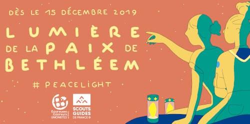 Lumière de Bethléem 2019 affiche