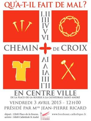 Chemin de croix Bdx 2015