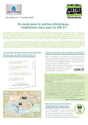justice climat CCFD