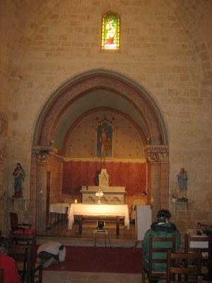 Loupes église Choeur