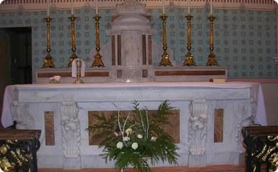 BONNETAN EGLISE autel