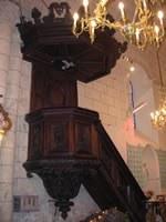 bonnetan église chaire