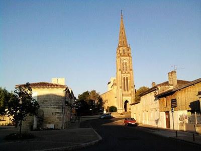 Tresses Eglise au bourg