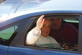 Pape François voiture
