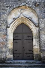 Pompignac Porte église