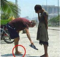Un geste de vrai partage