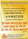 Fraternité Pentecôte 2015-08-06