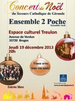 Concert de Noël du Secours Catho
